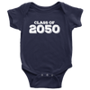 Class of 2050 Baby Onsie