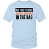 Halloween No Questions, Just Put The Candy In The Bag Halloween T-Shirt