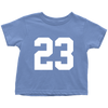 Team Jersey 23 Toddler T-Shirt