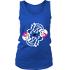 Halloween Maternity Twin Girls Baby Skeleton Halloween Tank Top