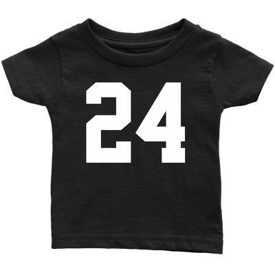 Team Jersey 24 Infant T-Shirt