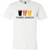 Three Amigos. Unisex short sleeve t-shirt | Funny Cinco De Mayo Mexico Holiday T-Shirts