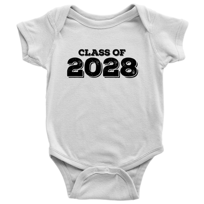 Class of 2028 Baby Onsie