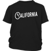 California Jersey Font Youth T-Shirt