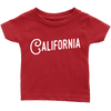 California Jersey Font Infant T-Shirt