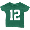 Team Jersey 12 Infant T-Shirt