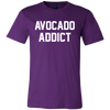 Avocado Addict T-Shirt | Funny Cinco De Mayo Mexico Holiday T-Shirts