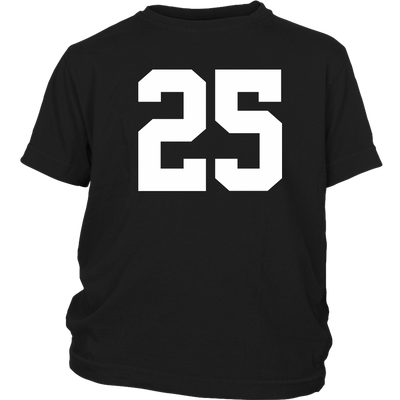 Team Jersey 25 Youth T-Shirt