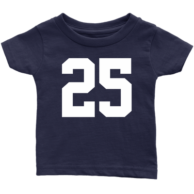 Team Jersey 25 Infant T-Shirt