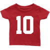 Team Jersey 10 Infant T-Shirt