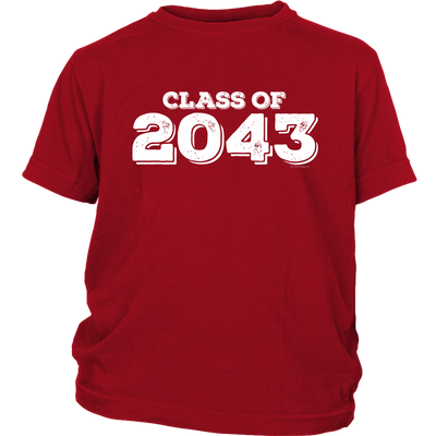 Class of 2043 Youth T-Shirt