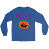 Halloween Mommy's Little Pumpkin Long Sleeve T-Shirt