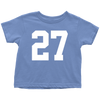 Team Jersey 27 Toddler T-Shirt
