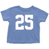 Team Jersey 25 Toddler