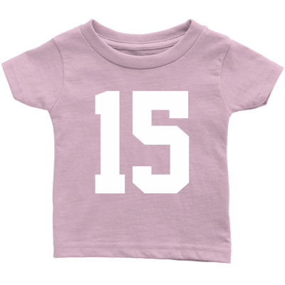 Team Jersey 15 Infant T-Shirt