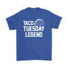 Taco Tuesday Legend Unisex short sleeve t-shirt | Funny Cinco De Mayo Mexico Holiday T-Shirts