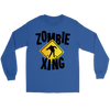 Halloween Zombie Xing Long Sleeve T-Shirt