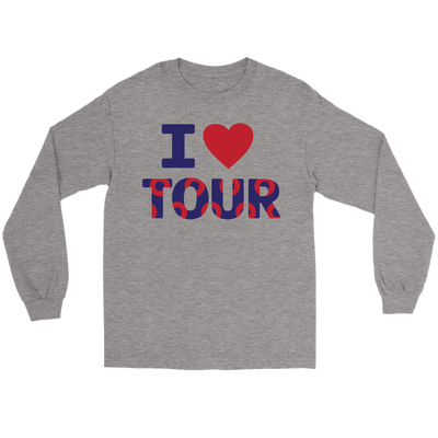 I Love Phan Tour Lot Merch Long Sleeve Tee