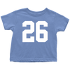 Team Jersey 26 Toddler T-Shirt