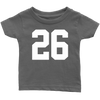 Team Jersey 26 Infant T-Shirt
