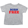 Born Free 4th of July Toddler Tshirt