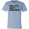 Every Juan Loves Tacos. Unisex short sleeve t-shirt | Funny Cinco De Mayo Mexico Holiday T-Shirts