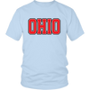 Ohio Jersey Red Font T-Shirt