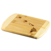 Hawaii State Shape Bamboo Cutting Board
