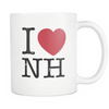 I Love New Hampshire Mug