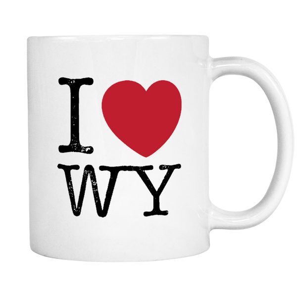 I Love Wyoming Mug