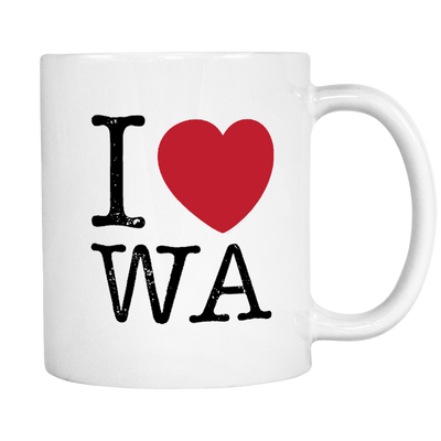 I Love Washington Mug