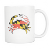 Maryland Flag Crab 11oz Mug