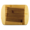 Wyoming State Shape Bamboo Cutting Board