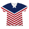 Stars and Stripes All Over 4th of July Tshirt