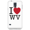 I Love West Virginia Phone Case