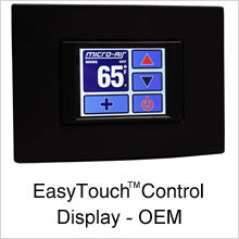 Micro-Air EasyTouch Control Display OEM