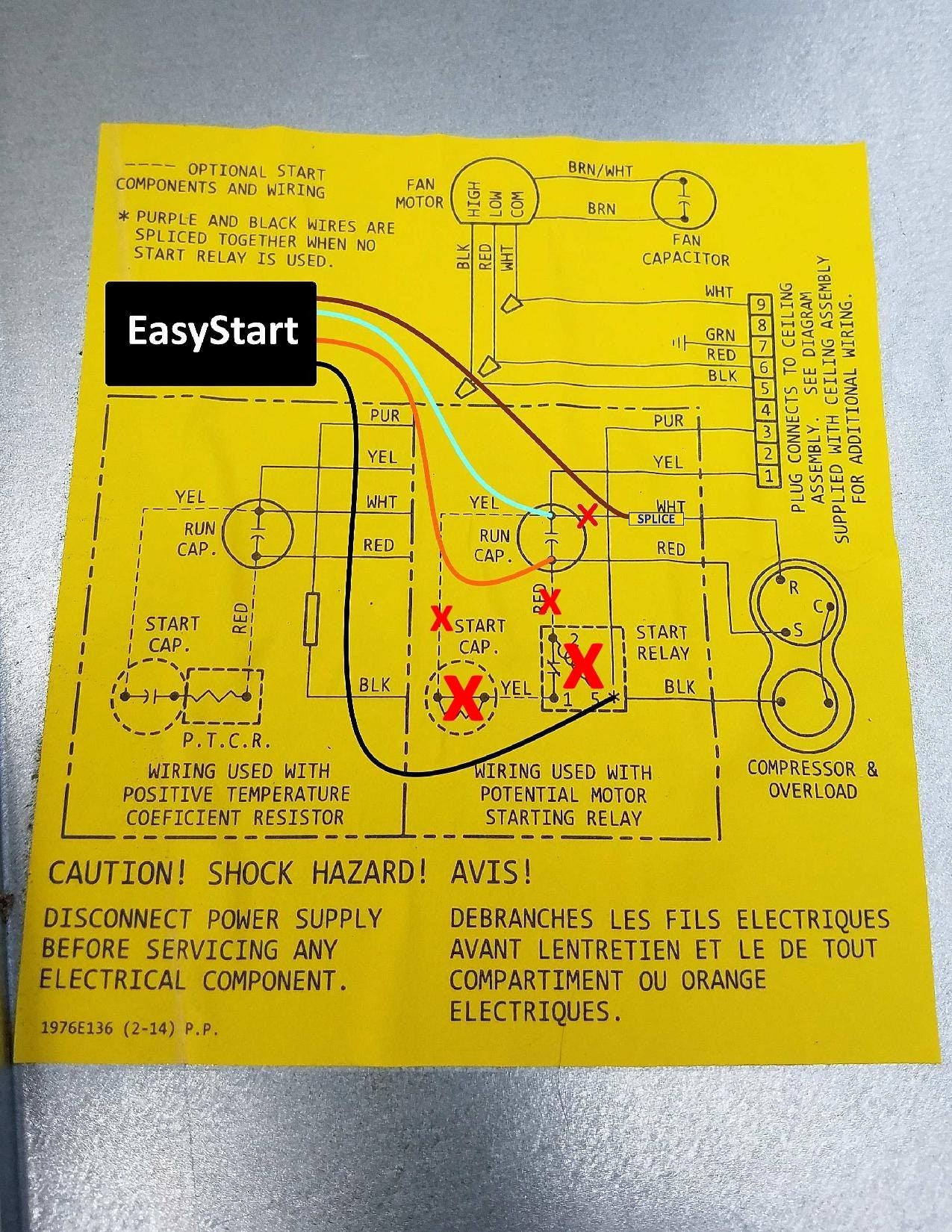 Coleman Mach Wiring Diagram Schematics Diagrams Air Conditioner 9 Ac Thermostat Rv Easystart Soft Starter Resource Page Micro Rh Microair Net 7330g3351 Ar7815