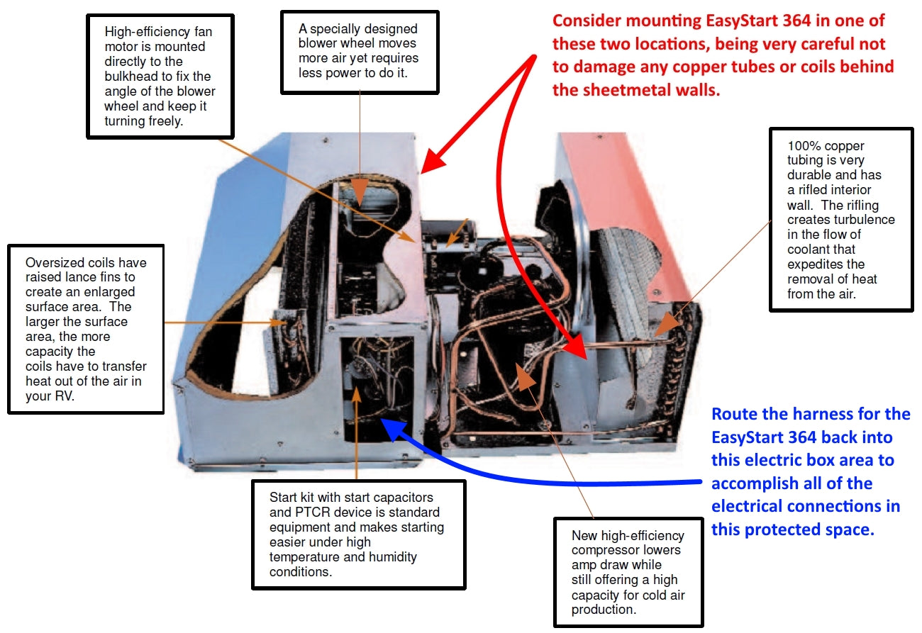Coleman Faqs Micro Air Inc Diy Rv Wiring Diagrams Online Attached Is The Diagram For Mach 3 And Also An Illustration Of