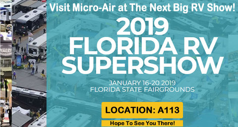 First show of 2019, and it's a SuperShow! – Micro-Air, Inc