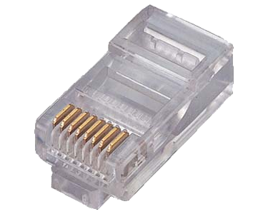 Connector - 8-Pin RJ-45 Modular Plug