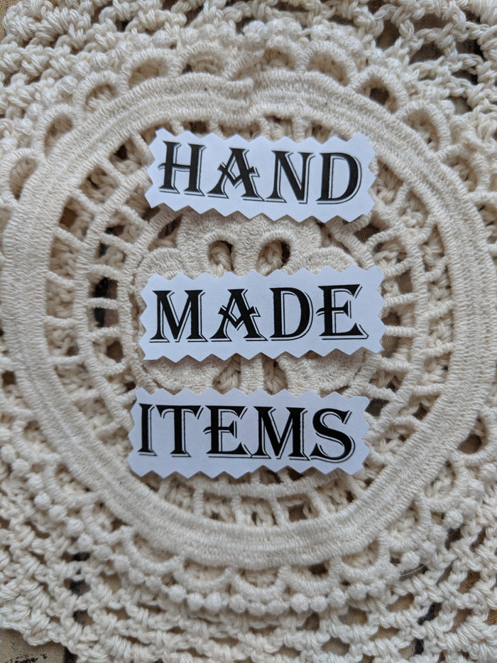 Hand made items
