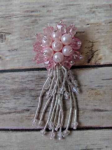 Tassel bead flower