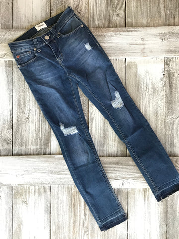 Christa Distressed Release Jeans