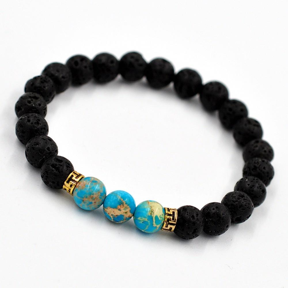 f98662ee63c4e Lava Stone Beads Bracelet - FREE for a limited time