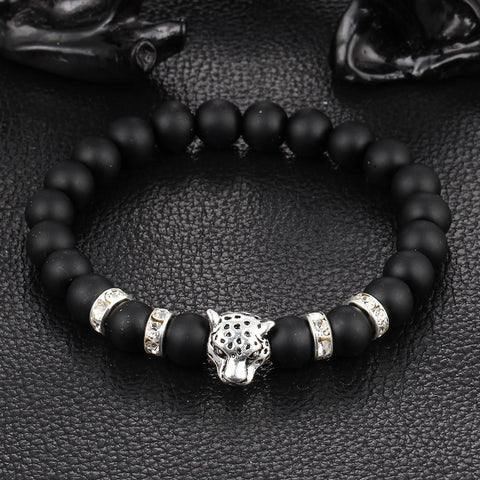 Antique Leopard Head Bracelet - FREE for a limited time