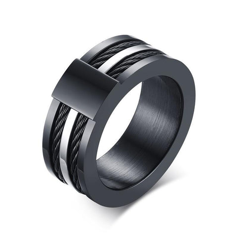 Wire Black Ring