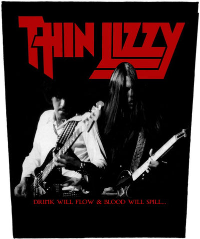 Thin Lizzy - Drink Will Flow Back Patch