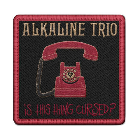 Alkaline Trio - Phone Collector's Edition Patch