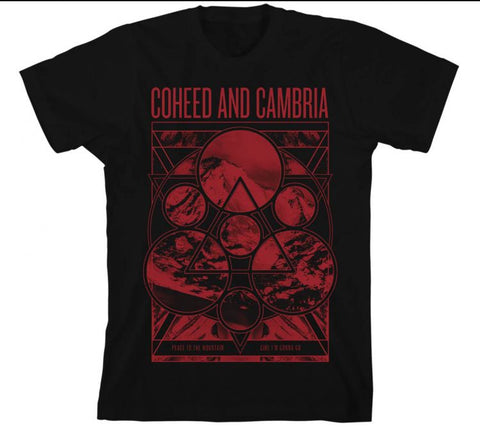 Coheed & Cambria - Mountain Peace T-Shirt