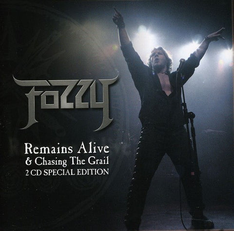 Fozzy - Chasing The Grail & Remains Alive *2 Discs* SP. ED. - [UK Import] - CD